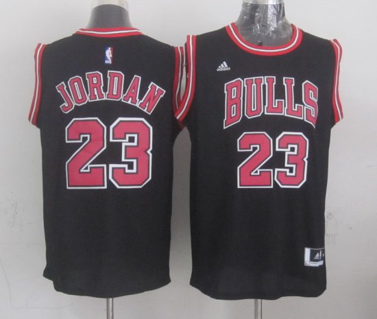 f17cbaf44529 Hot Cheap Sale Chicago Bulls  23 Jordan Merchandise Black LGL773 ...