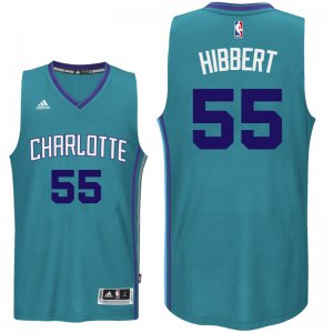 Hot On Sale Charlotte Hornets #55 Roy Hibbert 2016 17 Apparel Swingman Alternate Teal NDH618