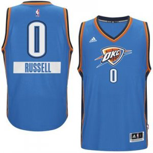 Hot Sale Online Oklahoma City Thunder Russell Westbrook NBA 2014 15 Christmas Day Swingman Road SHA3121