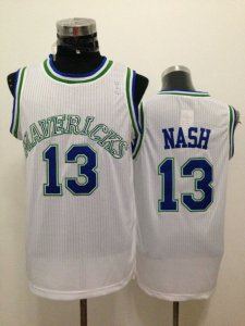 New 2018 Dallas Mavericks NBA #13 Nash White UQC1308