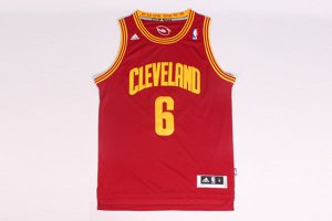On the fabric 6 Lebron NBA James back Cleveland Cavaliers Maroon RFD1209