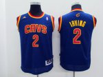 Real Kyrie Irving # 2 Cleveland Cavaliers Crazy Light NBA Swingman Youth GJN2070