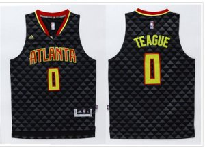 Wholesale Atlanta Hawks #0 Jeff Teague Black Swingman Clothing Stitched NQX363