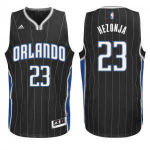 100% Hight Quality Mario Hezonja Orlando Gear Magic #23 Swingman Black TOJ3143