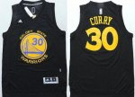 2018 New Arrive Apparel Warriors #30 Stephen Curry Black Stitched IPF1701