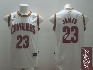 2018 Online Cheap Autographed Apparel Cleveland Cavaliers #23 James white JEO3387