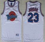 2018 The Movie Space Jam 23 Michael Jordan White Soul Jersey Swingman BVC1509