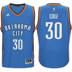 65% Discount Oklahoma City Thunder #30 Norris Cole 2016 17 Road Clothing Blue Swingman PQD3091