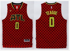 65% Off Basketball Atlanta Hawks #0 Jeff Teague Red Swingman Stitched AQX364