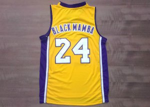 65% Off Black Mamba yellow Kobe Bryant Apparel Lakers Nickname JMW2488