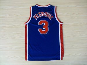 Authentic Basketball drazen petrovic nets blue OWT562