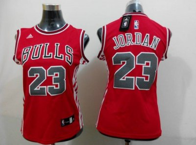 Best Cheap 2015 Women Chicago Bulls #23 Jordan Basketball red YAH4296