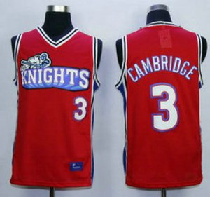 Best Gift The Movie Like NBA Mike Los Angeles Knights 3 Calvin Cambridge Red Swingman Basketball OUO1495