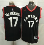 Buy 2018 Basketball #17 VALANCIUNAS Toronto Raptors black HMU3919