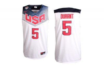 Buy Authentic 2014 Jerseys FIBA Basketball World Cup Kevin Durant USA White  SCF4033 70ec68854