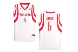 Buy Terrence Merchandise Jones Houston Rockets #6 white MRH1944