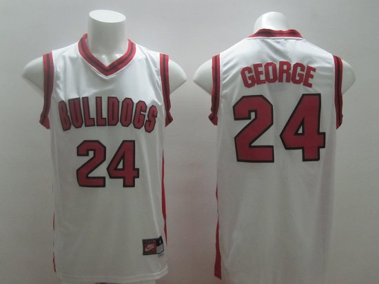 02aaf60ff Cheap New 2014 Indiana Pacers 24 Paul Jersey George White University  VYB2012