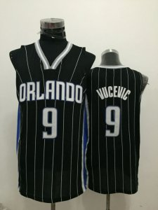 Chic Orlando NBA Magic Nikola 9 Vucevic Black JKV3155