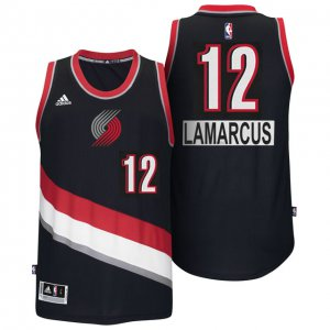 Delicious Portland Trail Blazers #12 LaMarcus Aldridge 2014 Christmas Day Big Apparel Logo Swingman AHP3470