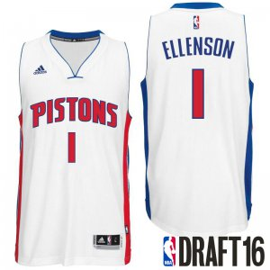 Good work 2016 Draft Gear Pick Detroit Pistons Henry Ellenson White Home Swingman UER1396