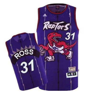 Hot 2017 Clothing Toronto Raptors #31 Terrence Ross Hardwood Classics Swingman Purple PSF3866