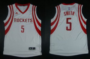 New Arrival Revolution Jerseys 30 Rockets #5 Josh Smith White Road Stitched WRC1926