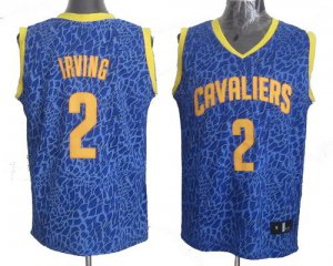Official Apparel Cleveland Cavaliers #2 Kyrie Irving Crazy Light Swingman Light Blue SLW1221