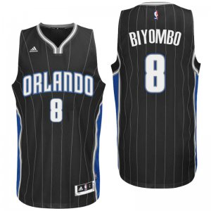 Official Orlando Magic #8 Bismack Biyombo Jerseys 2016 Alternate Black Swingman RXT3149