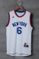 Online 2018 Gear York Knicks #6 Porzingis White WNE2971