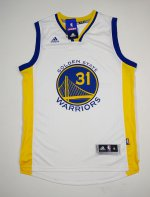 Shop Cheap Gear Golden State Warriors 31 EZELI WHITE Material MES1767