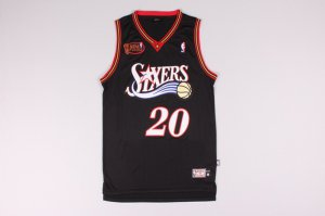 The Cheapest #20 SNOW 76ers final black Gear (heat applied) EQW3266