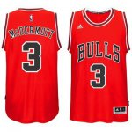 The last product #3 Apparel Mcdermott Chicago Bulls red (Heat applied) BEY729