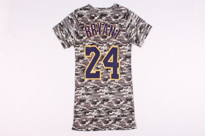 Unique design Kobe Bryant 24 women Jerseys dress QYD4289