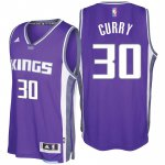Unique design Sacramento Kings #30 Seth Curry 2016 17 Seasons Road NBA Swingman Purple CRW3535