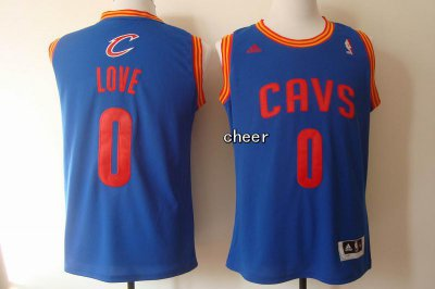 2018 New Cleveland Cavaliers Basketball #0 love Blue KTX1168