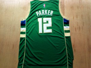 Best Gift Jabari Parker NWT Milwaukee Bucks #12 NBA green BSL2829