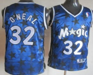 Buy Cheap Online Orlando Magic #32 Shaquille O'neal Blue All Jerseys Star IYZ3183