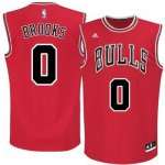 Cheap Promotion #0 Brooks Chicago Bulls red (Heat Apparel applied) SMG724