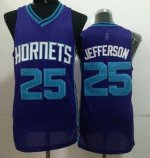 Cheap with Revolution 30 Hornets #25 Al Jefferson Purple Gear Stitched OSV649