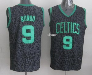 Discount Boston Celtics #9 RONDO Crazy Light Swingman Apparel LHA473