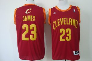 Durable Lebron James Gear Cleveland Cavaliers Maroon 23 Red ZDB1194
