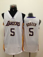 Magnificent Los Clothing Angeles Lakers #5 Carlos Boozer White YGM2440