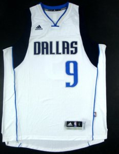 New Style Dallas Mavericks #9 rondo white Merchandise TBE1290
