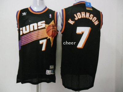 Novelty Gear Fabric Phoenix Suns #7 K Johnson black NDM3340