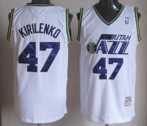 Promotional sale Kirilenko Utah Jazz #47 NBA white TBY4158
