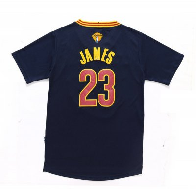 The good business 2016 Cavaliers Finals #23 James Sleeved Black Gear TQW238