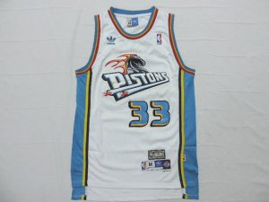 Wholesale Detroit Pistons 33 Grant Apparel Hill Swingman Throwback white EPJ1411