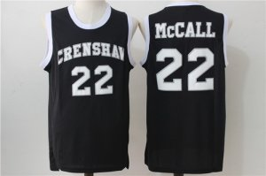 discount price The Movie Love & Basketball #22 Quincy McCall Black Soul Clothing Swingman Basketball ENS1444