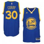 Authentic Mens Golden State Warriors NBA Stephen Curry Royal Blue 2014 15 Swingman Road UWW1780