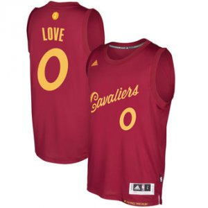 Big discount Jersey Cleveland Cavaliers #0 Kevin Love Burgundy 2016 Christmas Day Swingman ANX949